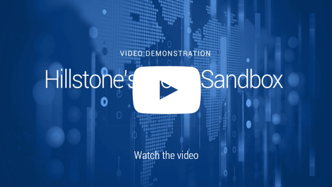 Watch 비디오: Hillstone Cloud Sandbox 데모
