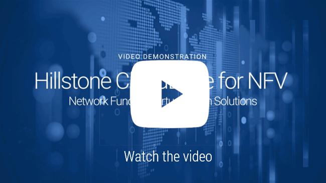 Watch 비디오: 네트워크 기능 가상화(NFV)용 Hillstone CloudEdge 솔루션 데모