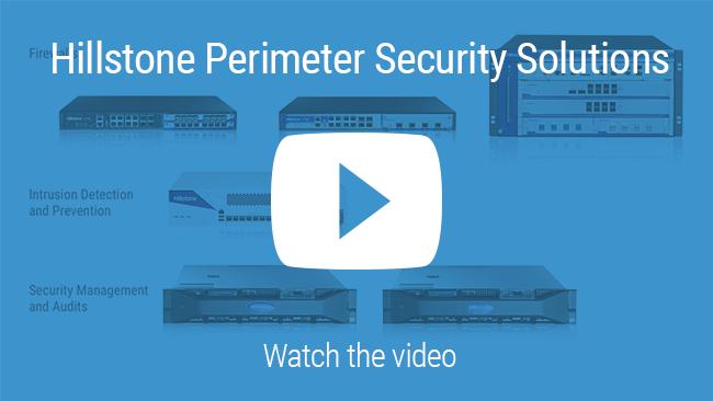 Watch 비디오: Hillstone 경계 보안 솔루션 포트폴리오