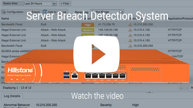 Watch 비디오: Hillstone 서버 침입 탐지 시스템
